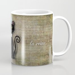 Le Chat, La Reine - The Cat, The Queen Coffee Mug