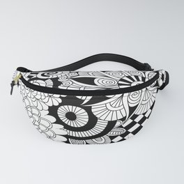 Good Vibes Doodle Fanny Pack