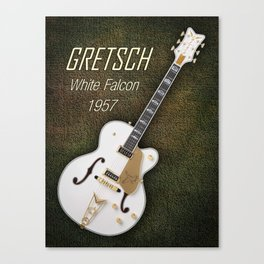 Gretsch  White Falcon 1957 Canvas Print