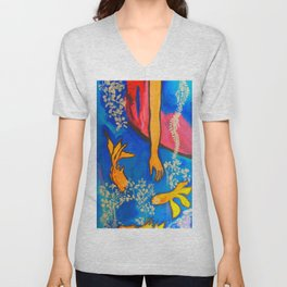 Ophelia  #society6 #decor #buyart Unisex V-Neck