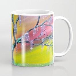 Entanglement, colorful tree landscape, beautiful landscape, cypress tree Coffee Mug