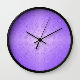 Hepburn in Lavender Wall Clock