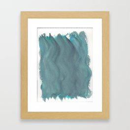 Cold Waters 1 Framed Art Print