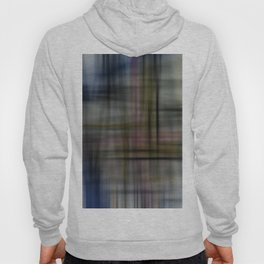 Deconstructed Abstract Scottish Plaid Pattern Hoody