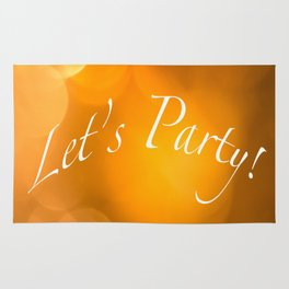 Let's Party! Rug