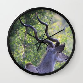 Hot Horns Wall Clock