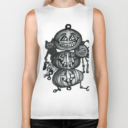 Cat's Day Out Biker Tank