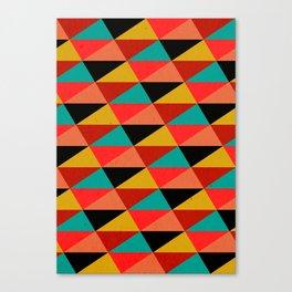 Ternion Series: Wintertide Jubilee Motif Canvas Print