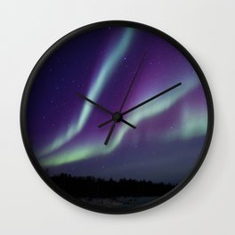 Northern Lights 4 Wall Clock