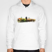 prague Hoodies featuring Prague panorame by jbjart