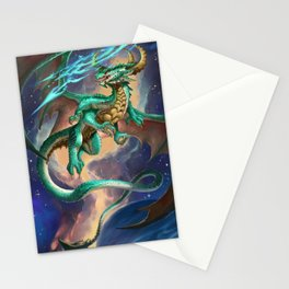 Galaxy Dragon Stationery Cards