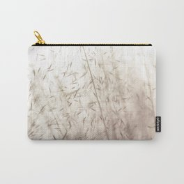 White pampas grass II Carry-All Pouch