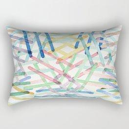 Microscopic Play Rectangular Pillow