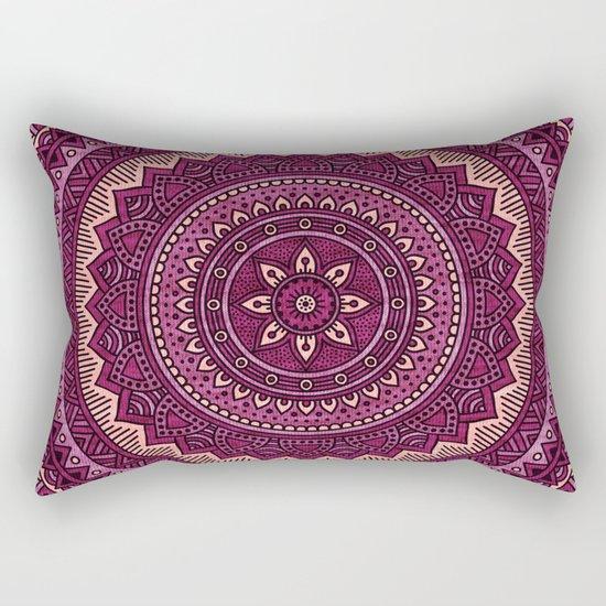 Hippie mandala 39 Rectangular Pillow