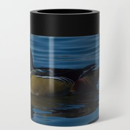 Colorful Wood Duck Can Cooler