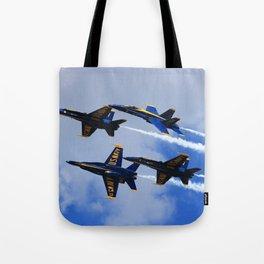 US Navy Blue Angels Tote Bag