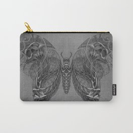 Butterfly skulls 2 Carry-All Pouch