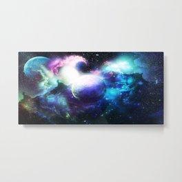 Universo Metal Print