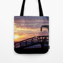 An Off-Duty Sunset Tote Bag