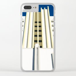 Art Deco Miami Beach #23 Clear iPhone Case