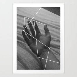 I Don't Think About It Too Much Art Print