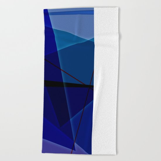Abstract #463 Beach Towel