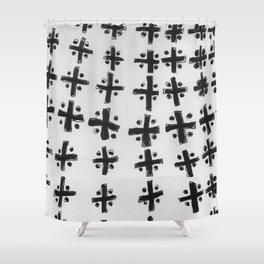 Pattern Meditation Shower Curtain