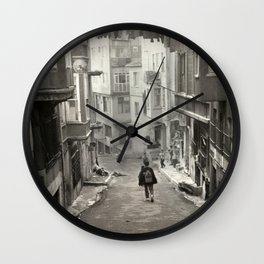 Child in Time Wall Clock