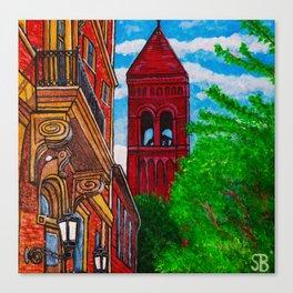 Duke Street Steeple Canvas Print