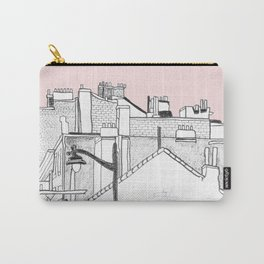Architecture Mixes in Brussels Carry-All Pouch