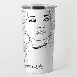 Feminist Dolly Travel Mug