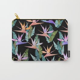 Birdie Tropical Black Carry-All Pouch