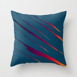 Tearing The Veil: Colors Throw Pillow