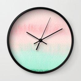 151208 19. Pastel Wash Wall Clock