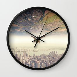 Diving to the Parallel Worlds Wall Clock