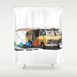 GISHBUS Solo Shower Curtain