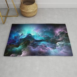 Space storm Rug