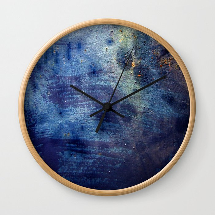 Blurple Wall Clock
