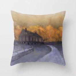 At Just Dawn Throw Pillow
