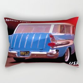 1957 Pontiac Safari Rectangular Pillow
