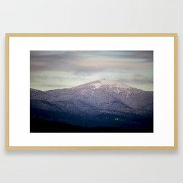 Mt. Spokane 16 V2 Framed Art Print