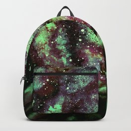 The Night Comet, Green Backpack