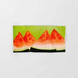 Watermelon Slices Hand & Bath Towel