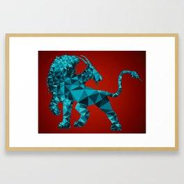 Geometric Chimera Framed Art Print