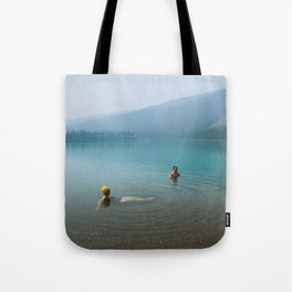 Kind Strangers in Banff Tote Bag