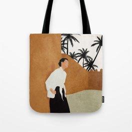 Backbone Tote Bag