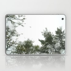 rainy trees ~ nature Laptop & iPad Skin
