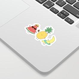 tropical fruits Sticker