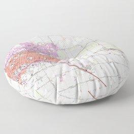 CA Merced 101574 1961 24000 geo Floor Pillow