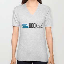 Bookish Unisex V-Neck